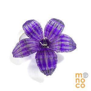 Broche Flor Crin