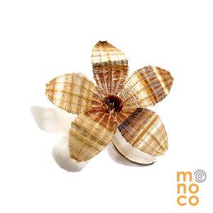 Broche Flor Crin/Cobre