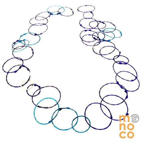 Collar Troya Tres Morado/Calipso
