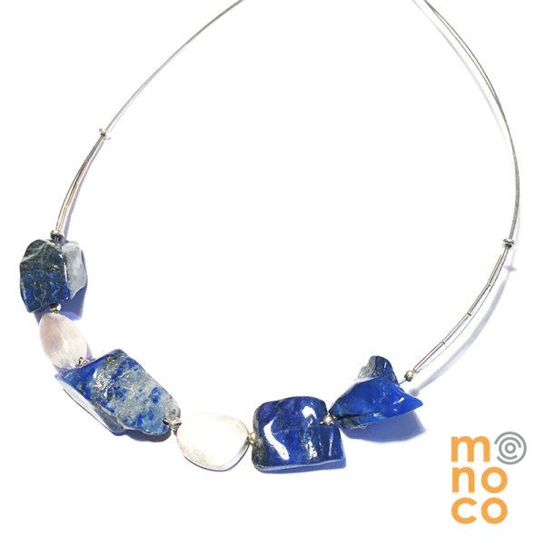 Collar Lapislázuli Irregular