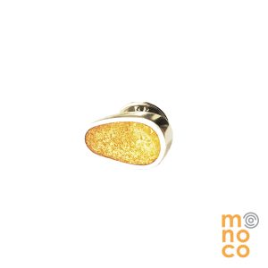 Pin Irregular Resina Oro