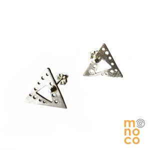 Aros Tope AOE Triangular Plata