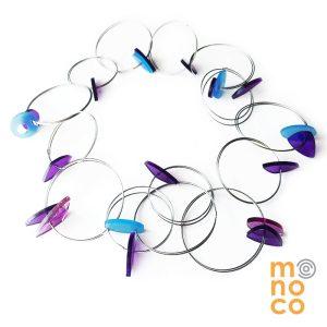 Collar Argollas Mariposa 36