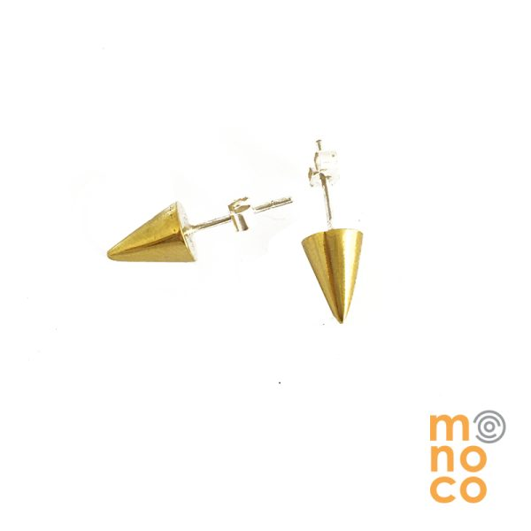 Aros Tope Cono Bronce