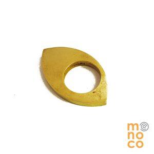 Anillo Cuatro Bronce Resina/Oro