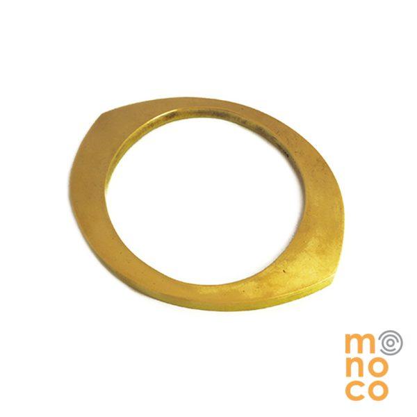 Esclava Cuatro Bronce Resina/Oro