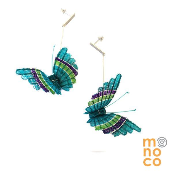 Aros Mariposa Crin Calipso